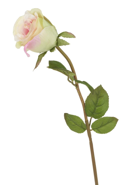 """VBS Kunstblume """"Rose Zartrosa"""" 47 cm lang"""