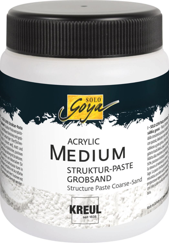 "Kreul Acrylpaste ""Acrylic Medium Struktur-Paste"" Grobsand 250 ml"