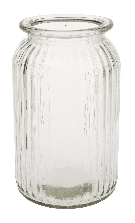 """VBS Vase mit Rillen """"Homeland"""" 18 cm hoch"""