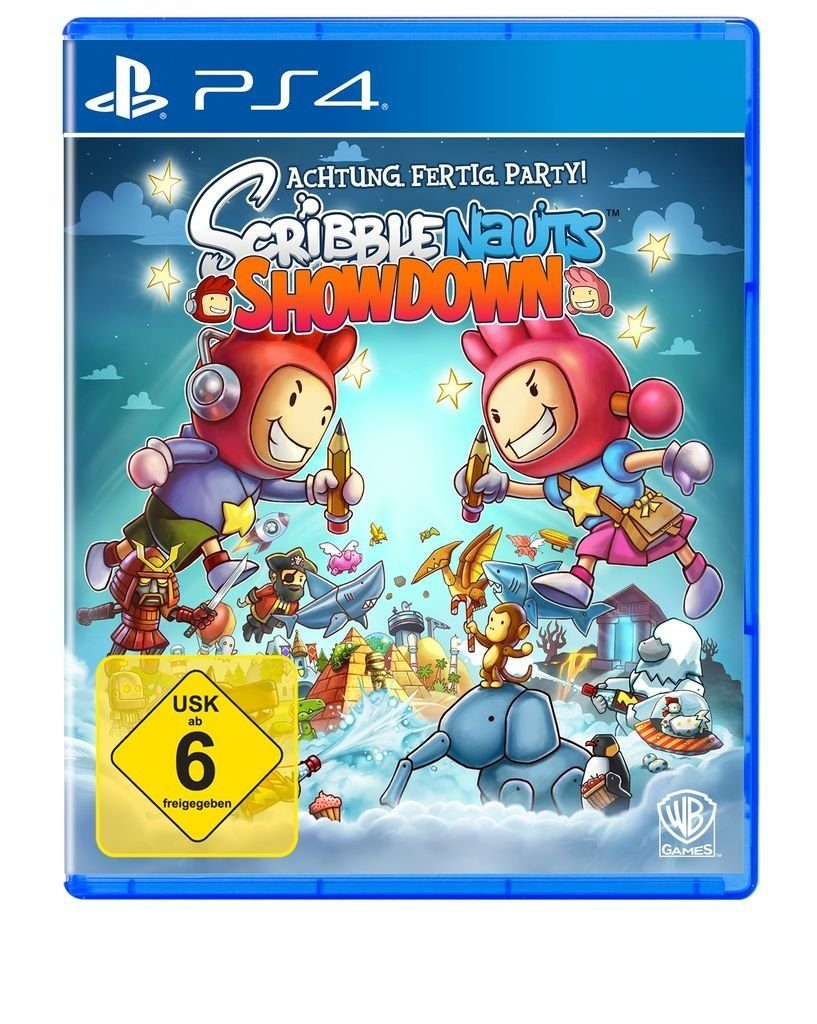 Warner Games Playstation 4 - Spiel »Scribblenauts Showdown«