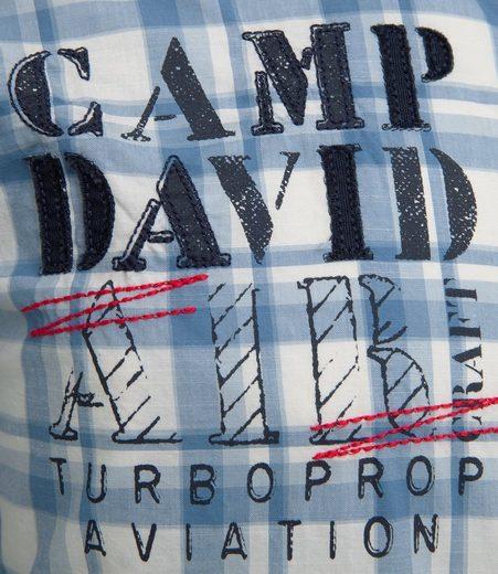 CAMP DAVID Karohemd