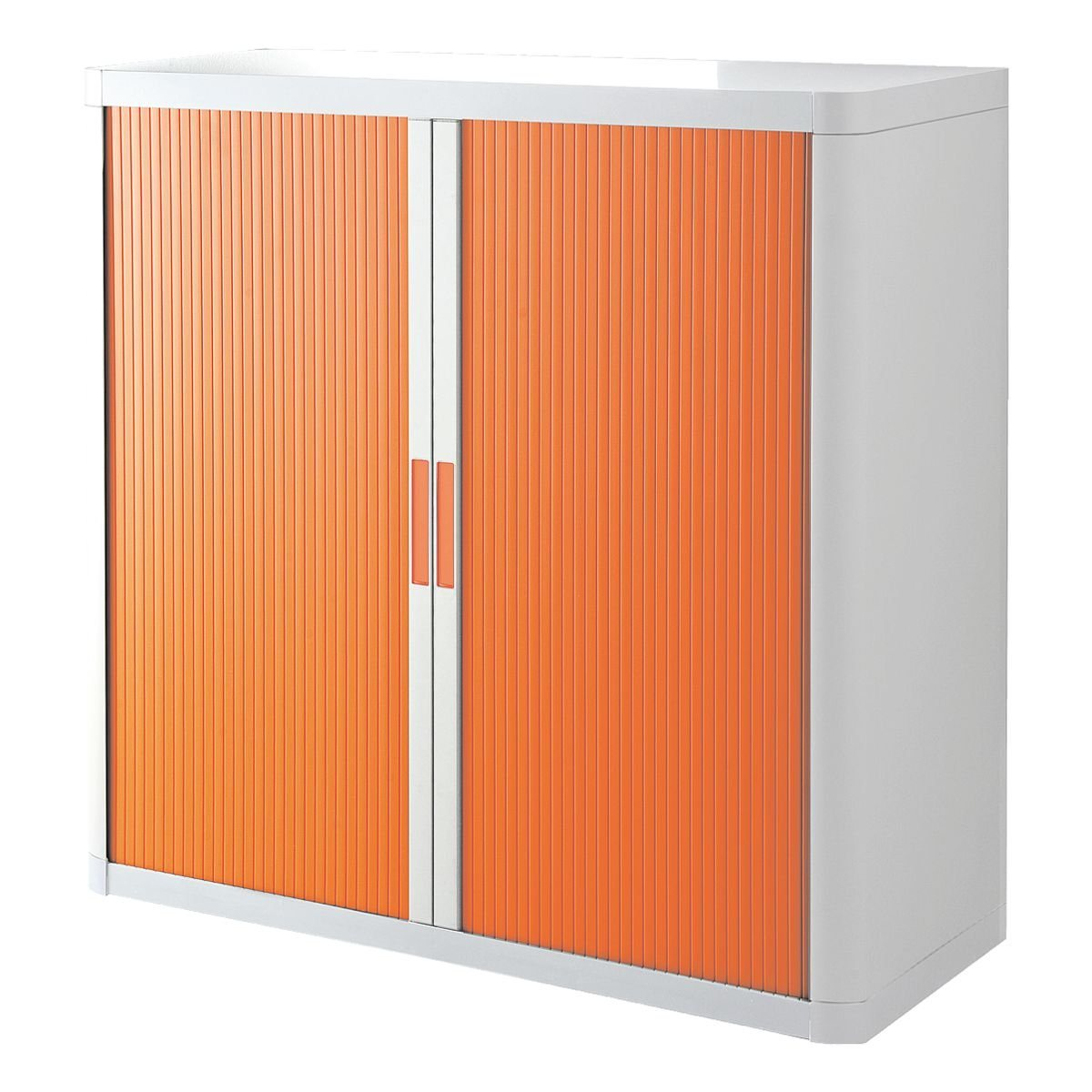easyOffice Rollladenschrank 110 x 104 cm »easyOffice«   Wohnzimmer > Schränke > Weitere Schränke   Weiß   Metall   EASYOFFICE