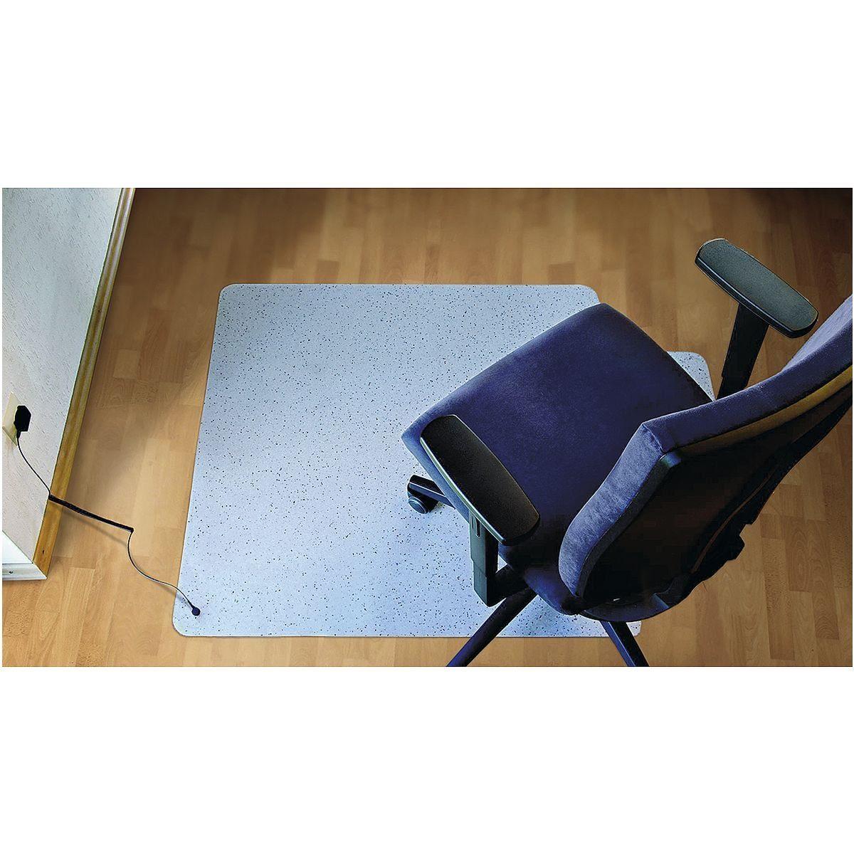 RSOFFICE Bodenschutzmatte 120x150 cm, Rechteck mit Lippe, für Har... »Rollstat«