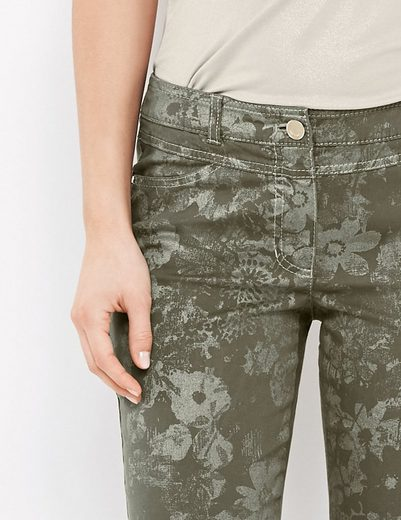 Gerry Weber Hose Freizeit lang Hose mit Alloverprint