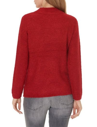 Betty Barclay Pullover mit Stehkragen