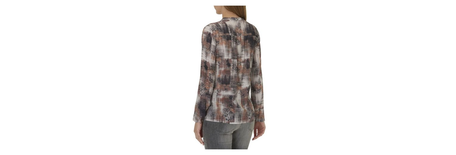 Betty Bluse Betty Allover Barclay Barclay Muster mit 7xnwUgzq
