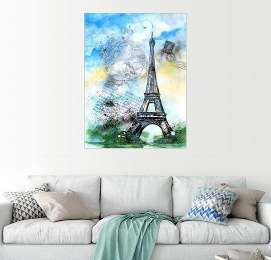 Posterlounge Wandbild - Jitka Krause »Erinnerung an Paris«