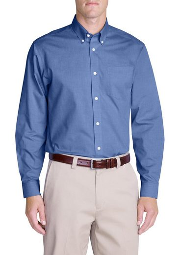 Eddie Bauer Knitterarmes Pinpoint-oxfordhemd - Relaxed Fit