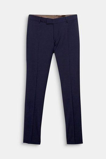 ESPRIT COLLECTION ACTIVE SUIT Anzughose aus Woll-Mix