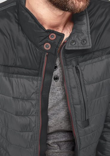 S.oliver Red Label Quilted Jacket With Sporty Details