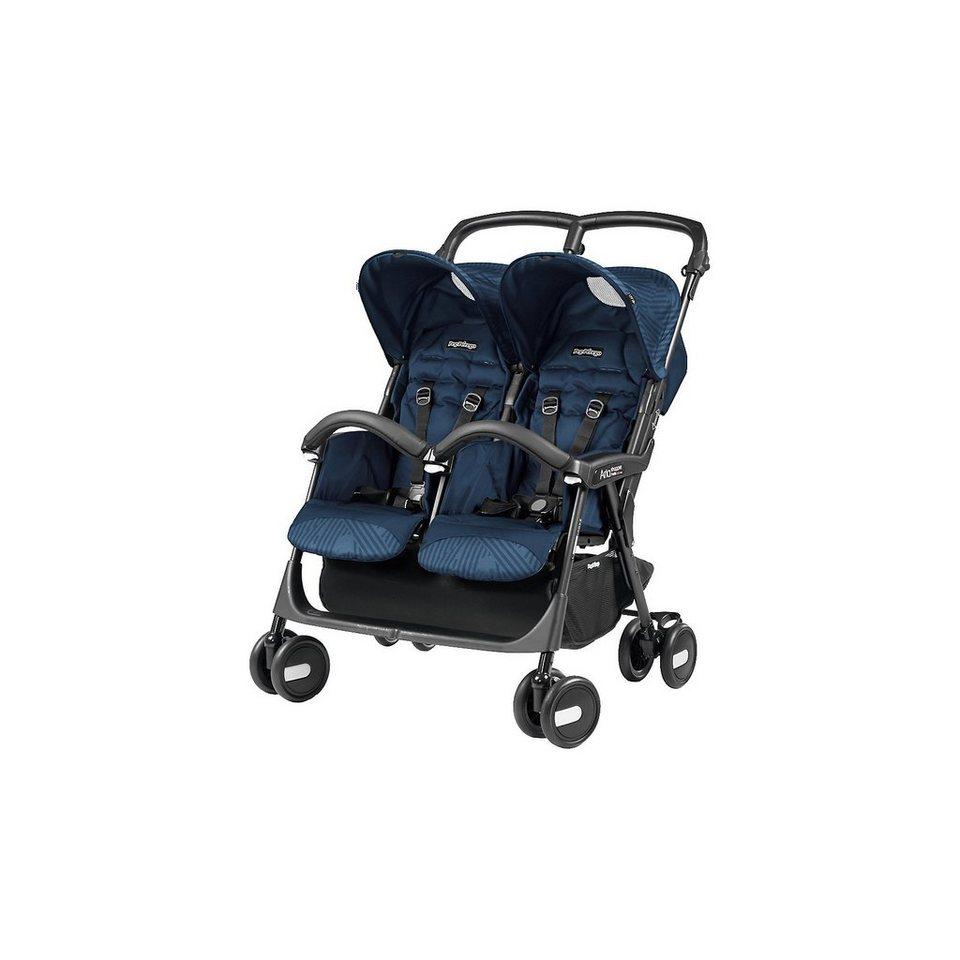 Peg Perego Zwillingswagen Aria Shopper Twin, Geo Navy, 2018 online kaufen