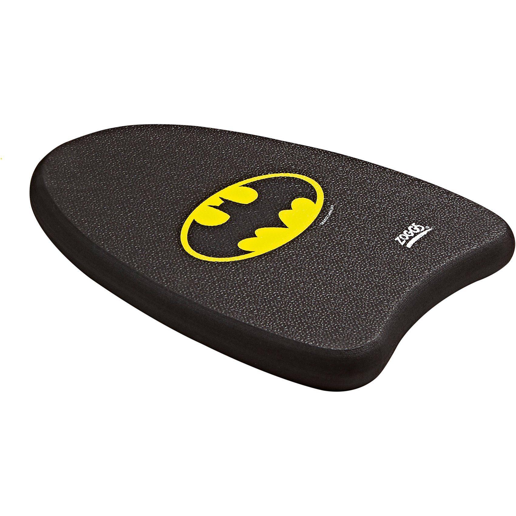 Zoggs Schwimmbrett Batman, schwarz