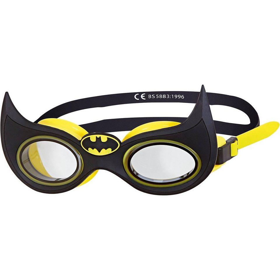 Zoggs Schwimmbrille Batman Character, schwarz