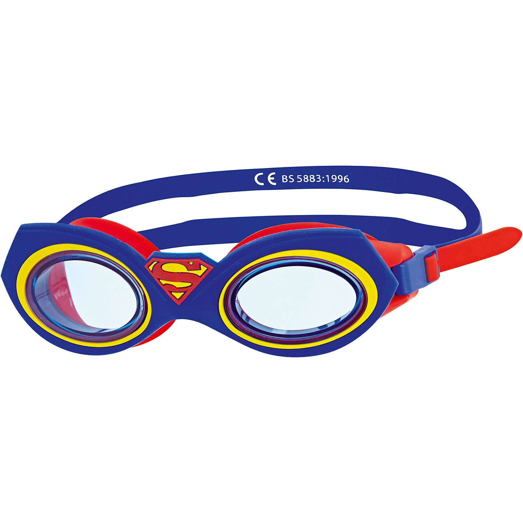 Zoggs Schwimmbrille Superman Character, blau