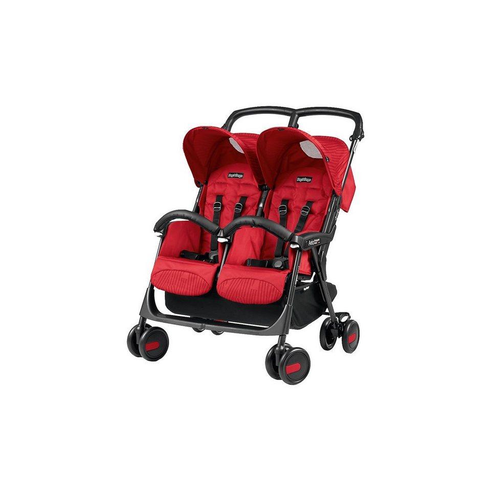 Peg Perego Zwillingswagen Aria Shopper Twin, Geo ROT, 2018 online kaufen