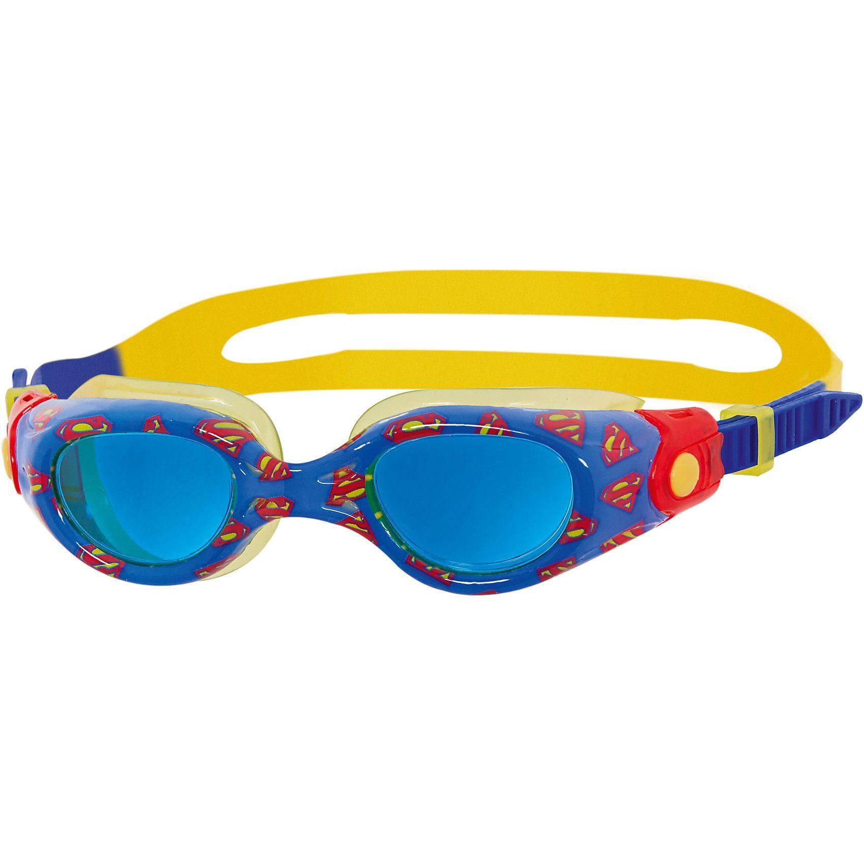 Zoggs Schwimmbrille Superman, blau