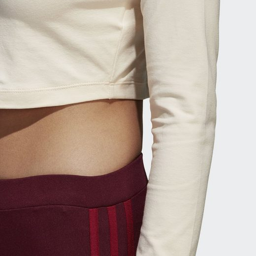 adidas Originals Sporttop Styling Complements Cropped Longsleeve