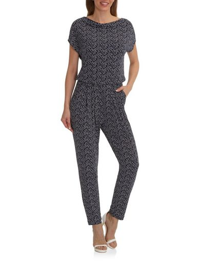 Betty Barclay Jumpsuit gemustert mit Allover Design
