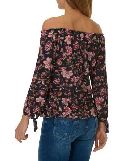 Betty Barclay Off-Shoulder Bluse mit floralem Design