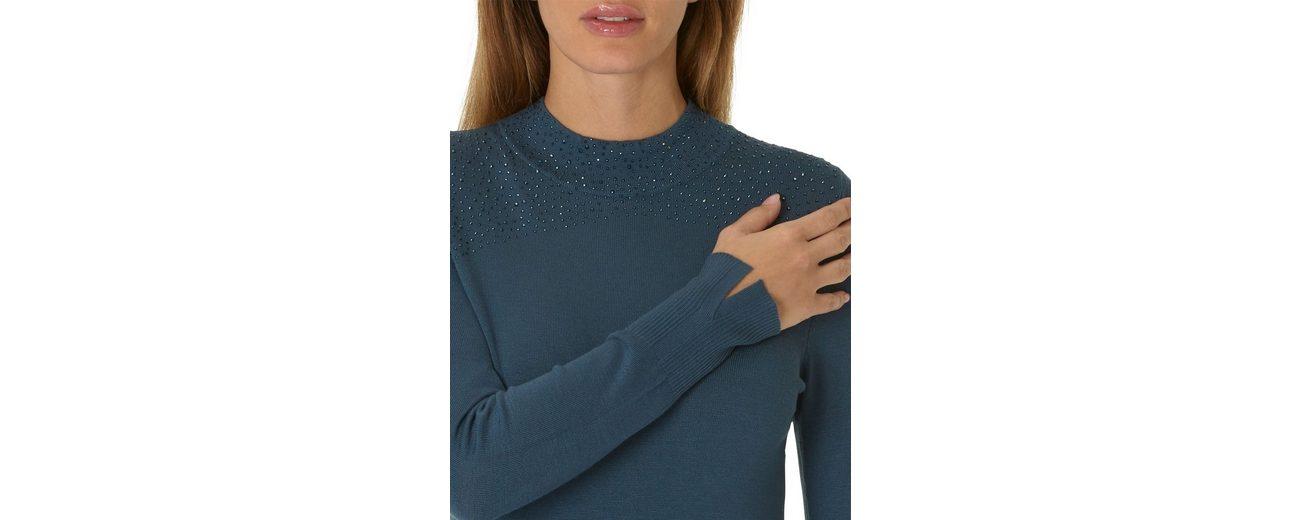 Betty Barclay Shirt mit Strasssteinen und Stehkragen Verkauf Geschäft Steckdose Billigsten v25pNg6