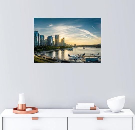 Posterlounge Wandbild - Andreas Kossmann »Vancouver Harbour Flight Center«