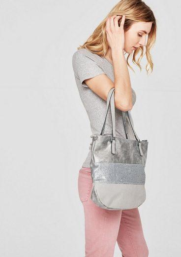 s.Oliver RED LABEL Shoulder Bag mit Pailletten-Besatz
