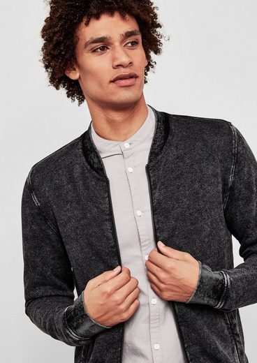 Q/S designed by Sweatshirt-Jacke im Blouson-Style