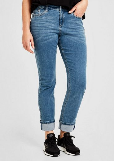 TRIANGLE Curvy Slim: Stretchjeans