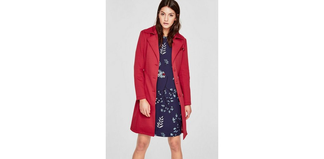 s.Oliver RED LABEL Double-Face-Mantel im Trenchcoat-Look Breite Palette Von Online 9XYli