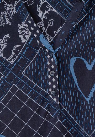 CECIL Patchwork Print Bluse