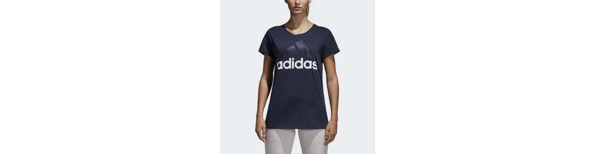 adidas Performance Sporttop Essentials Linear Loose T-Shirt 2018 Unisex Günstig Online WewpD6tTT