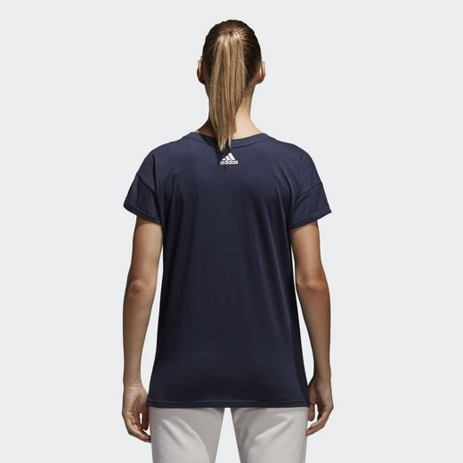 Adidas Performance Sporttop Essentials Linear Loose T-shirt