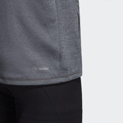 adidas Performance Longpullover Climacool Textured Kapuzenjacke