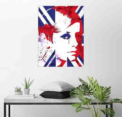 Posterlounge Wandbild - 2ToastDesign »alternative twiggy pop art«