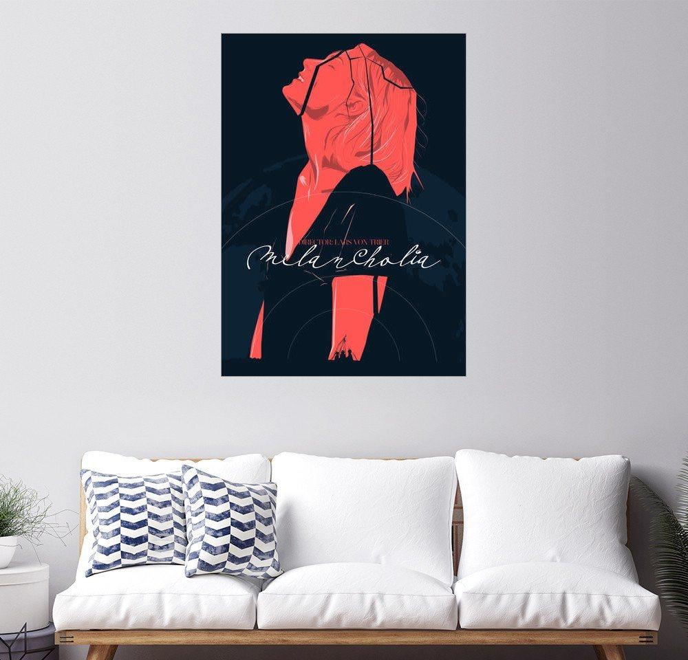 Posterlounge Wandbild - Fourteenlab »melancholia« | Dekoration > Bilder und Rahmen > Bilder | Holz | Posterlounge
