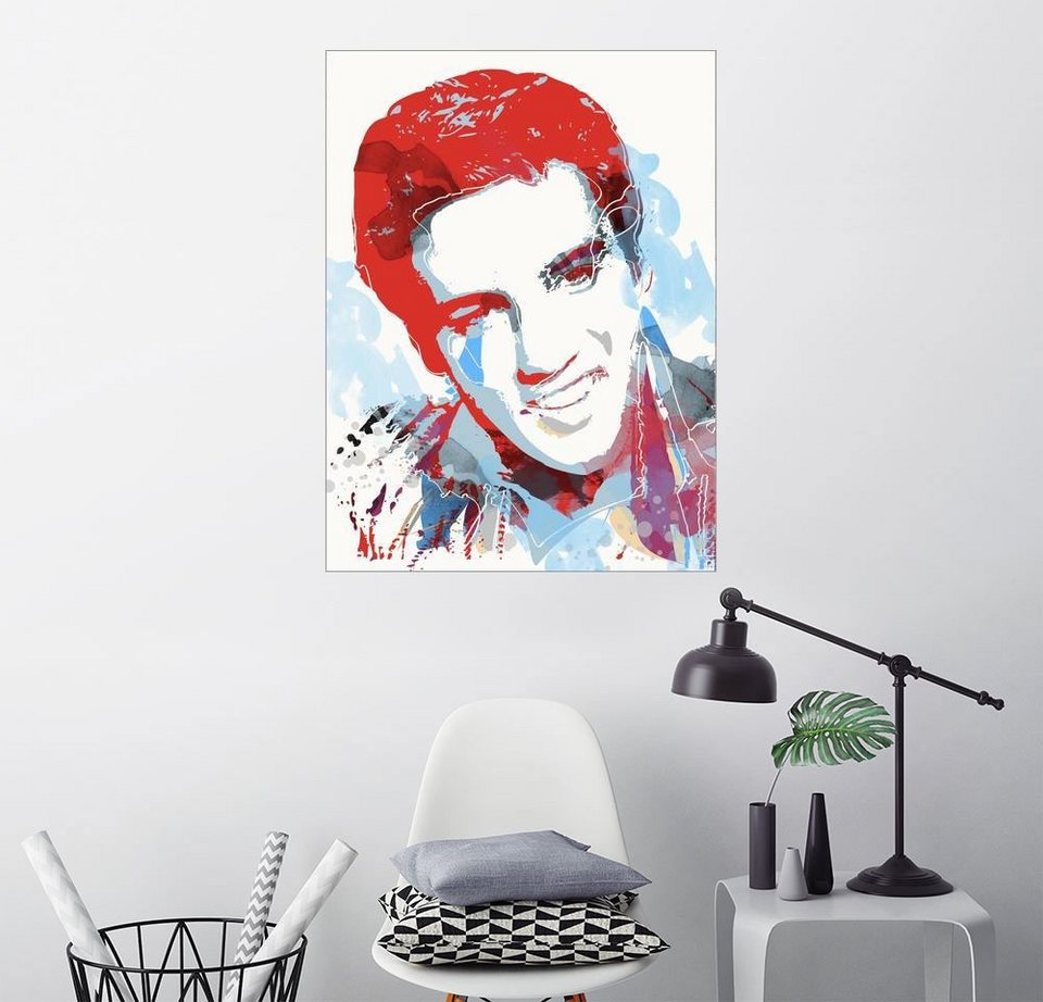 posterlounge wandbild 2toastdesign alternative elvis presley pop art online kaufen otto. Black Bedroom Furniture Sets. Home Design Ideas