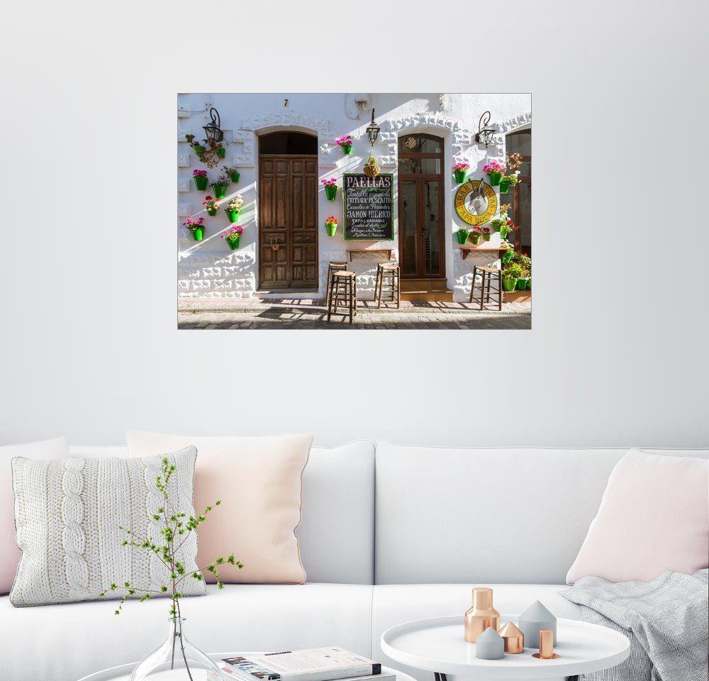 Posterlounge Wandbild - Matteo Colombo »Typische Bar in Andalusien«