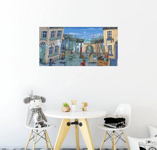 Posterlounge Wandbild - Peter Adderley »Draussen spielen«