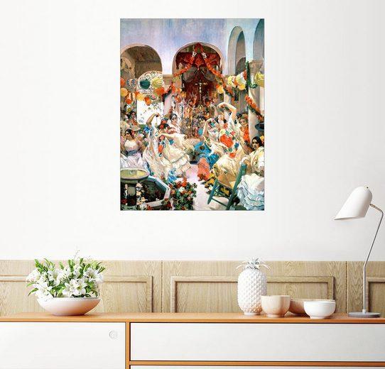 Posterlounge Wandbild - Joaquin Sorolla y Bastida »Sevilla«