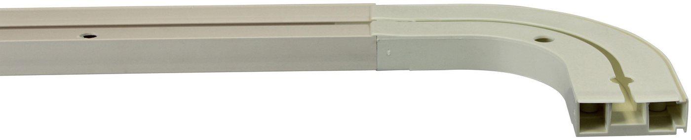 Gardinenschiene »Credo«, GARESA, 1-läufig, Wunschmaßlänge   Heimtextilien > Gardinen und Vorhänge > Gardinenstangen   Weiß   GARESA