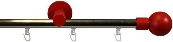 Gardinenstange »Ilball«, GARESA, 1-läufig, Wunschmaßlänge