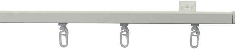 Gardinenschiene »Mini Schleuderschiene 150«, GARESA, 1-läufig, Wunschmaßlänge