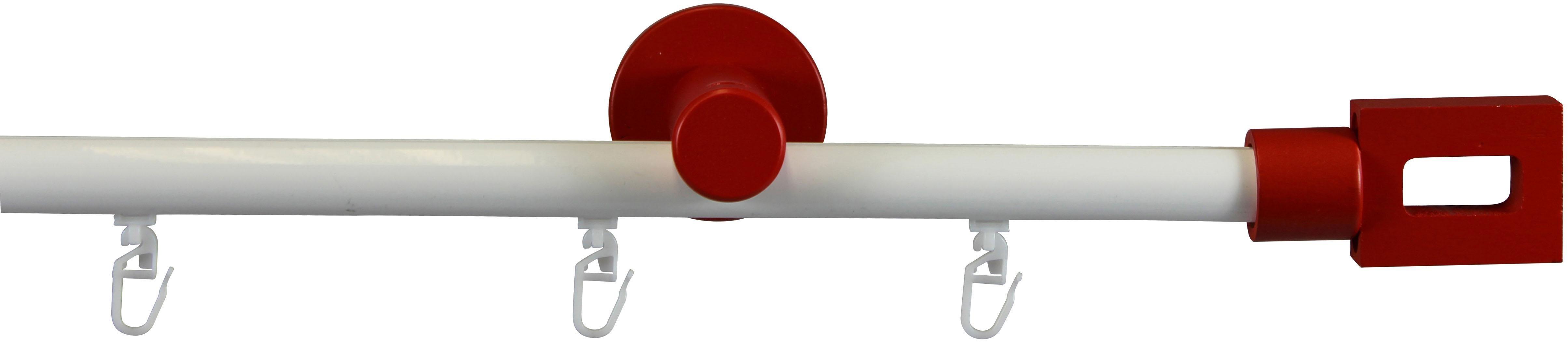 Gardinenstange, Garesa, »Ilaus«, Ø 20mm, 1- oder 2-läufig nach Maß | Heimtextilien > Gardinen und Vorhänge > Gardinenstangen | Aluminium - Metall | GARESA