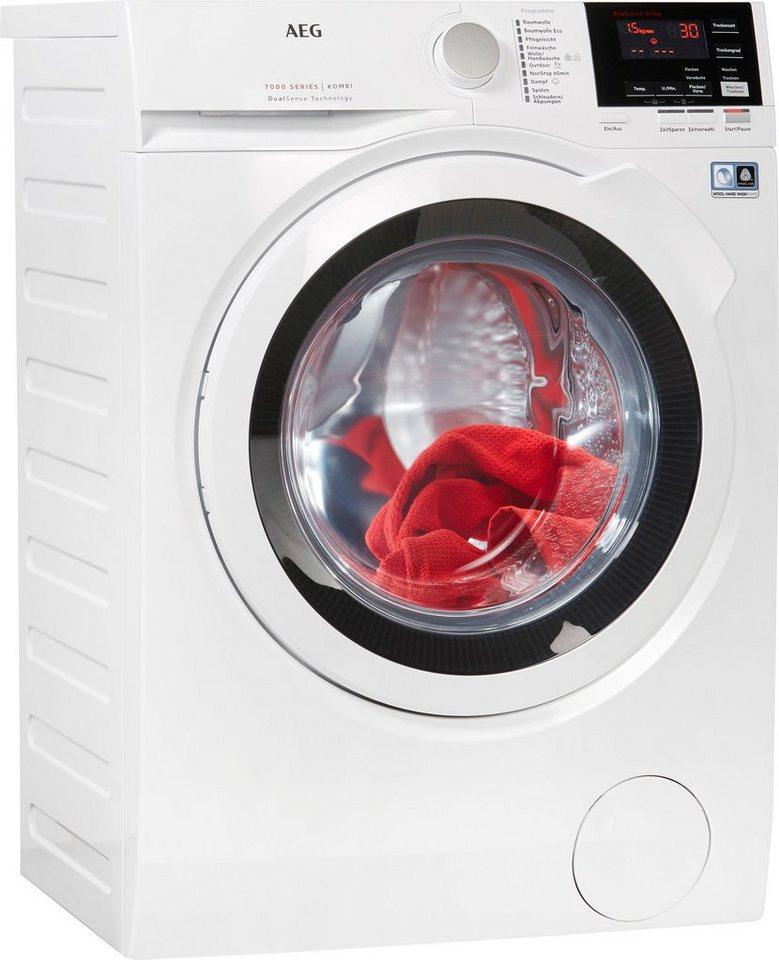 AEG Waschtrockner 7000 L7WB65684, 8 kg/4 kg, 1600 U/Min