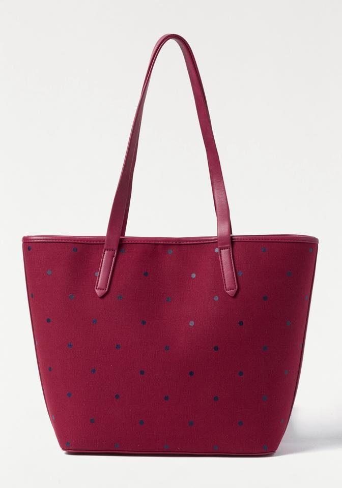 Esprit Shopper »ALISON DOTSHOPP«, mit herausnehmbarer Innentasche