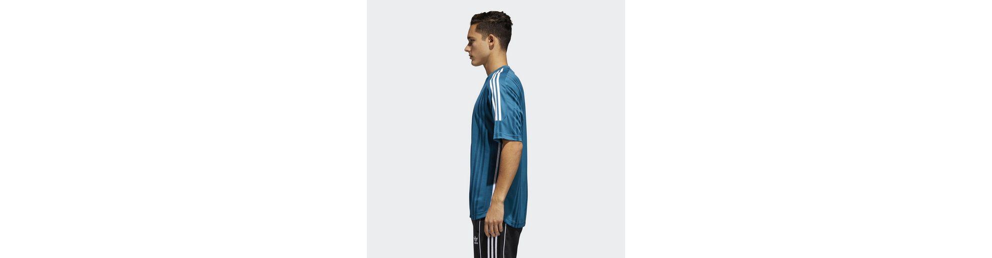 Freies Verschiffen Ursprüngliche adidas Originals T-Shirt 3-Streifen Jacquard Shirt Zuverlässige Online-Verkauf 2018 Neue Online 2018 Neue FxTj5HB2