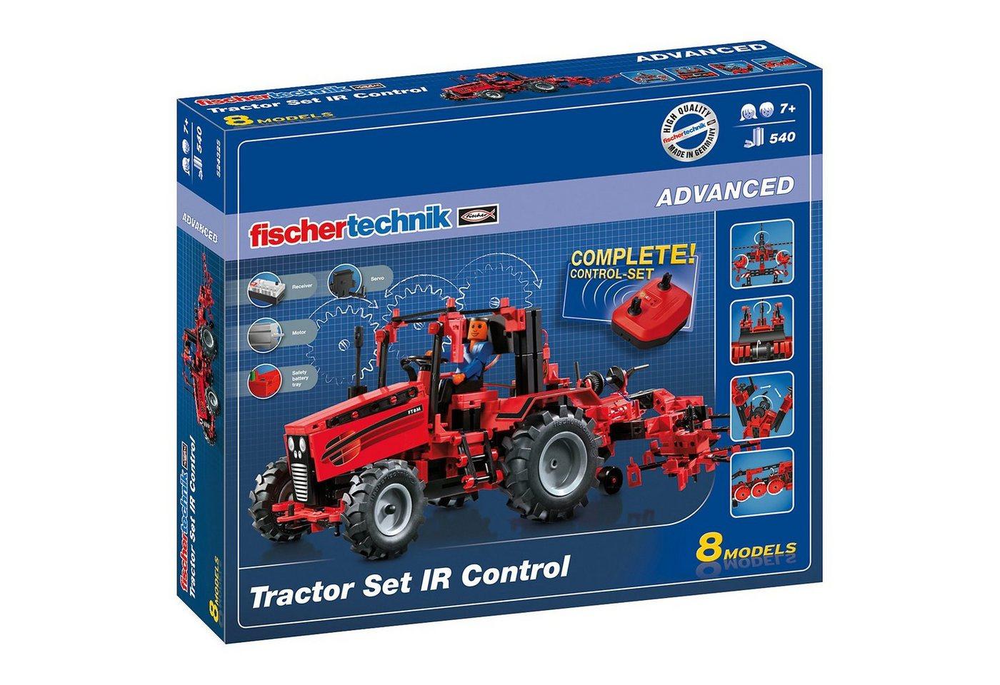 fischertechnik ADVANCED ´´Tractor Set IR Control´´ - Traktor Set mit Fernsteu