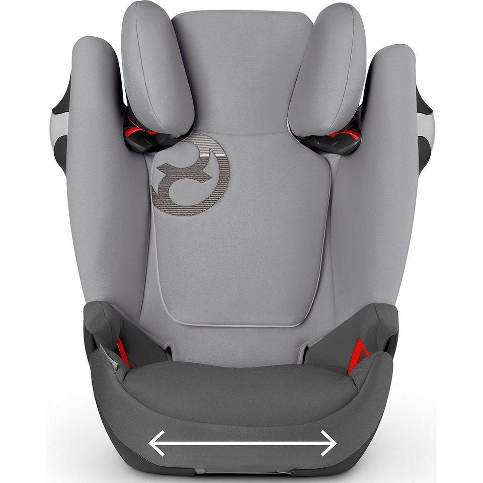 cybex auto kindersitz solution m fix gold line graphite. Black Bedroom Furniture Sets. Home Design Ideas