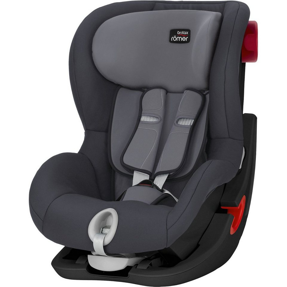 britax r mer auto kindersitz king ii black series storm grey 2018 online kaufen otto. Black Bedroom Furniture Sets. Home Design Ideas