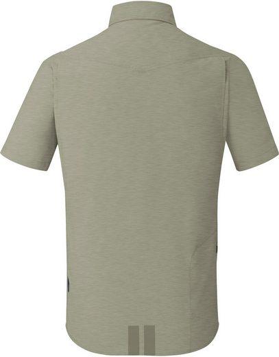 Shimano T-Shirt Transit Short Sleeve Check Button Up Shirt Men